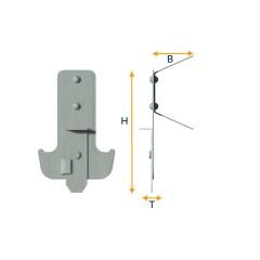 CD profile anchor suspension piece