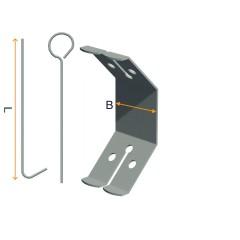 CD profile double suspension spring