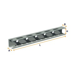 Mounting bracket (U-shaped)