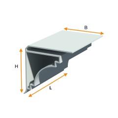 PVC outer angle piece