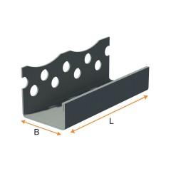Zinc-plated end piece