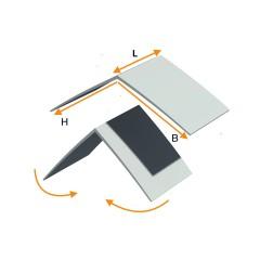 PVC angle piece (universal)