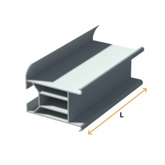 Drywall and window connector, PVC