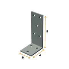 Windowsill angle brackets