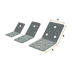 Angle brackets 135°